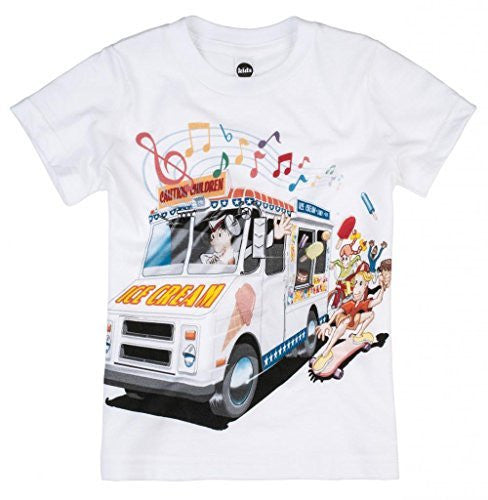 Shirts That Go Little Boys' Ice Cream Truck T-Shirt