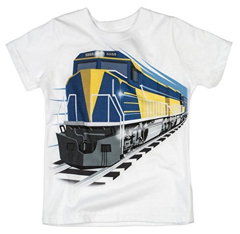 Shirts That Go Little Boys' Diesel Train T-Shirt