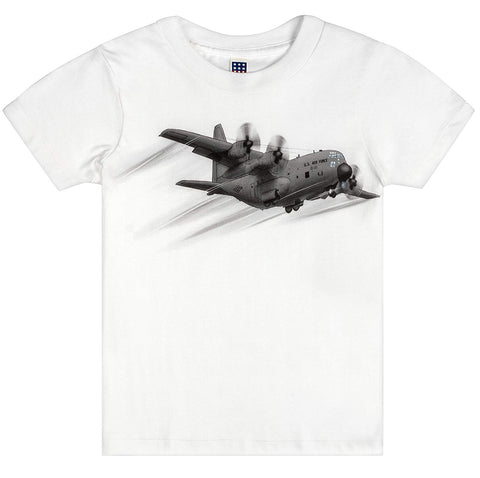 Shirts That Go Little Boys' Air Force Propeller Airplane T-Shirt