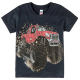 Shirts That Go Little Boys' Big Red Monster Truck T-Shirt