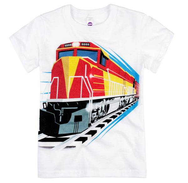 Shirts That Go Little Boys' Red Diesel Train T-Shirt