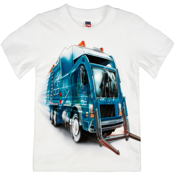 Shirts That Go Little Boys' Big City Recycling Truck T-Shirt