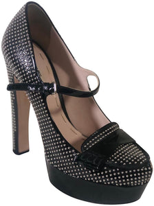Miu Miu | Black Mary-jane Pumps