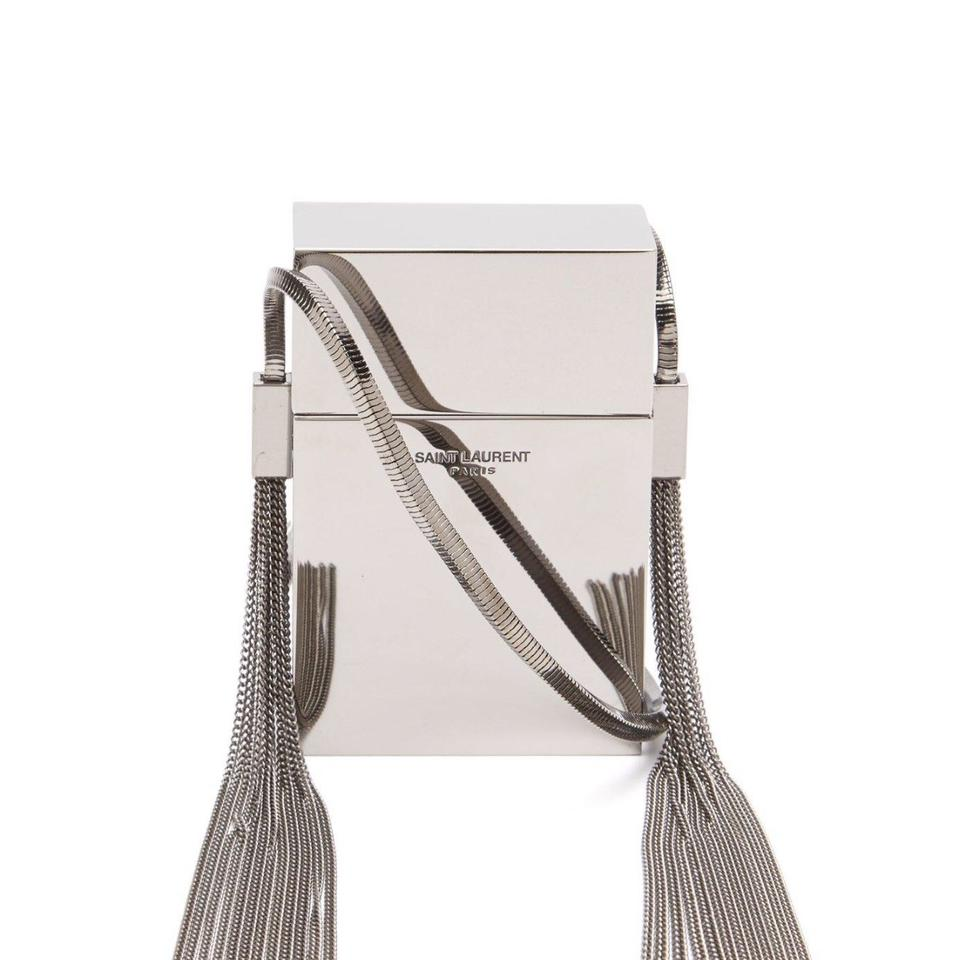 Saint Laurent | Smoking Box Mirrored Cross Body Bag