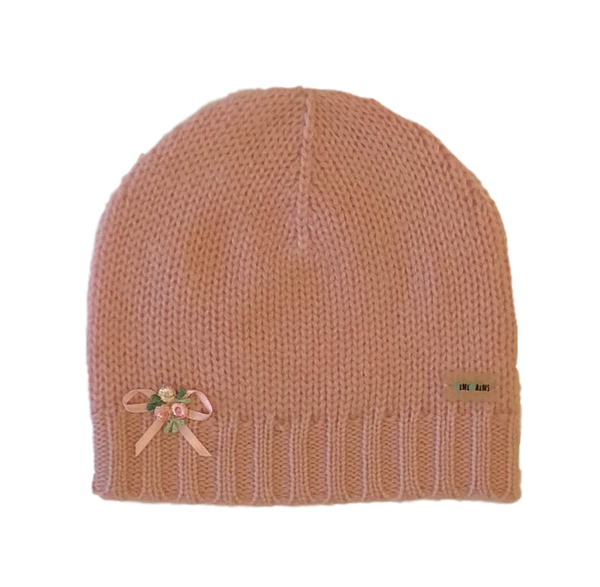 Classic Cashmere Baby Hat Embelisshment