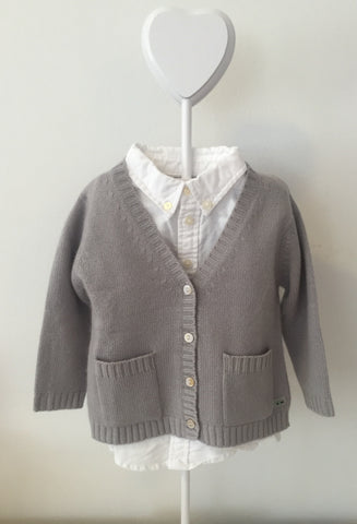 Pure Cashmere Cardigan V-Neck, 100% eco-friendly