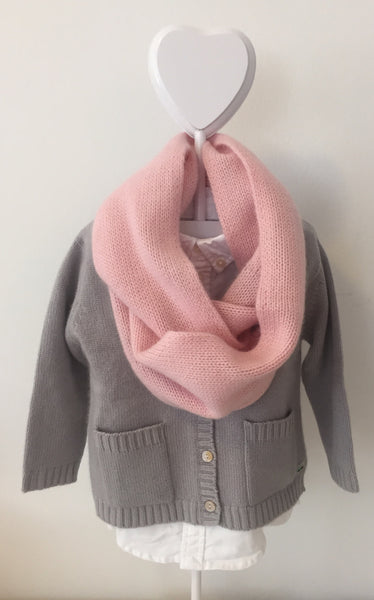 Pure Cashmere Infinity Scarf Toddler/Kids, 100% eco-friendly, 6-ply
