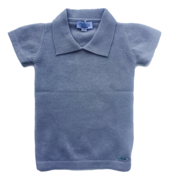 100% Cashmere Polo Sweater