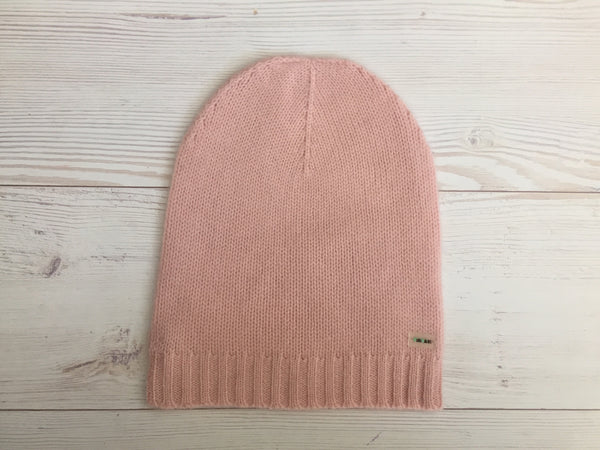 Pure Cashmere Beanie Hat Women, 100% eco-friendly