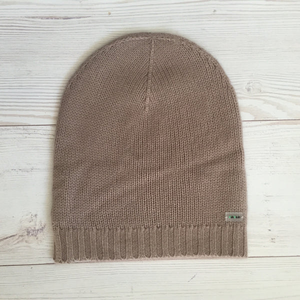 Pure Cashmere Beanie Hat Men, 100% eco-friendly, Male