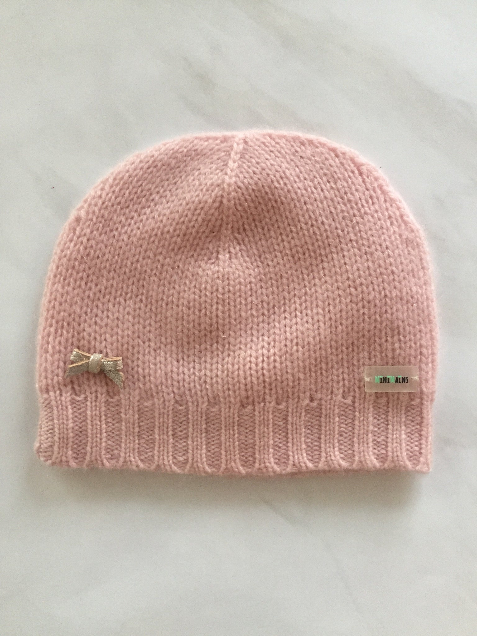 Cashmere Classic Baby Hat with Bow