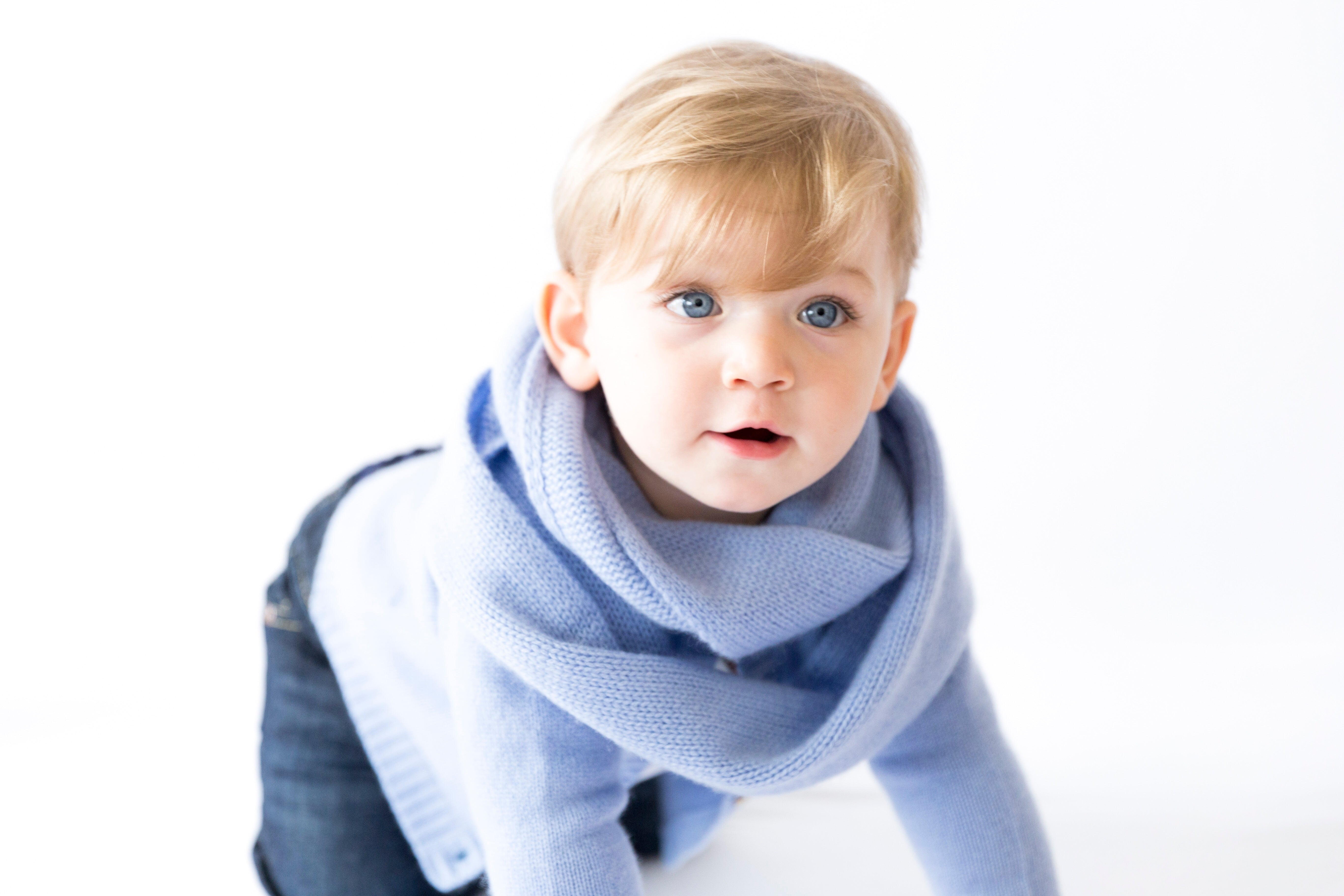 Pure Cashmere Infinity Scarf Toddler/Kids, 100% eco-friendly, 6-ply - MINIMAINS