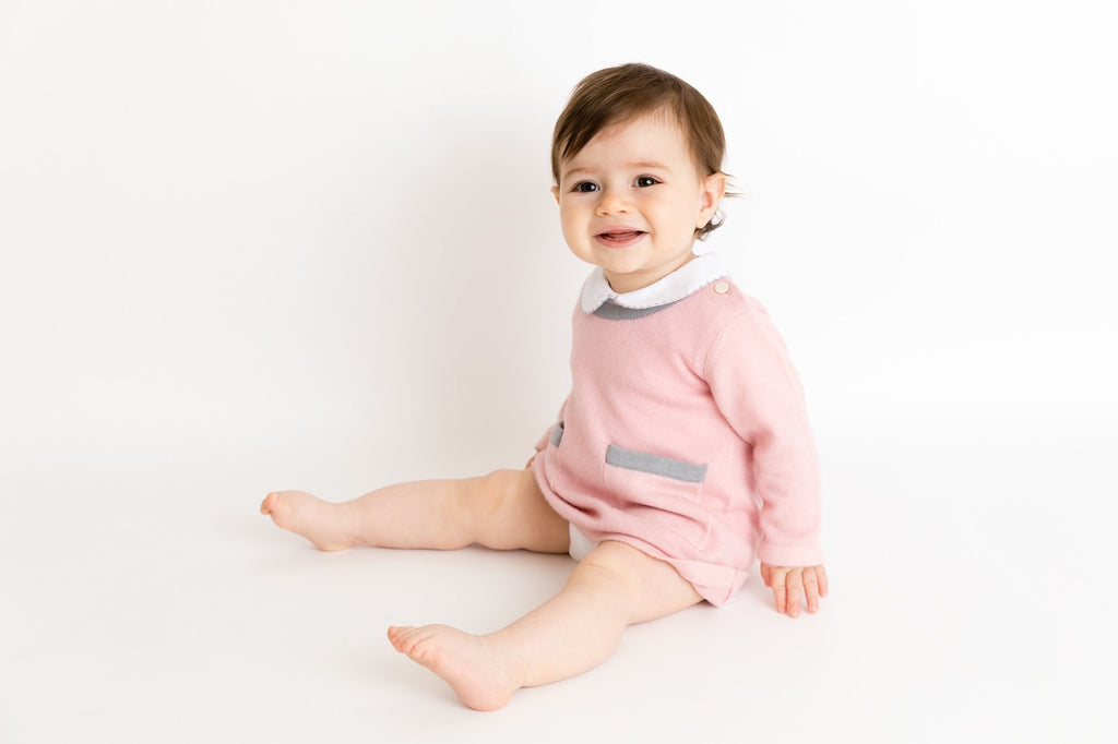 Pure Cashmere Dress with pockets baby & kids, eco-friendly - MINIMAINS