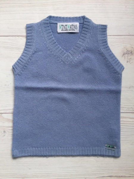 Pure Cashmere Vest sleeveless, eco-friendly
