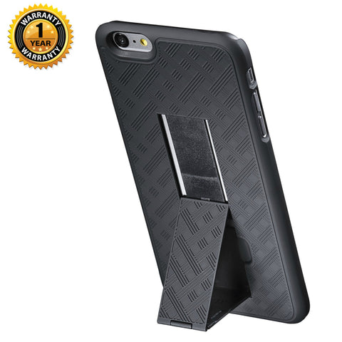 iPhone 6 Plus kickstand phone case in gray