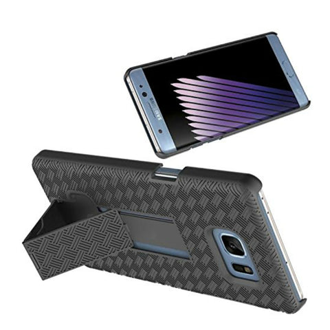 Slim Combo Case with Kick-Stand & Belt Clip Holster for Galaxys Note 7