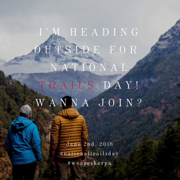 National Trails Day Invitation
