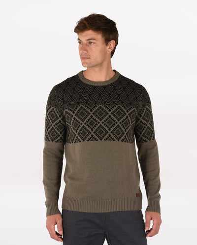 Amdo Crew Sweater - Men's