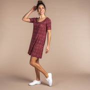 Kira Short Sleeve Swing Dress