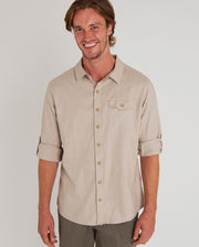 Kiran Long Sleeve Hemp Shirt