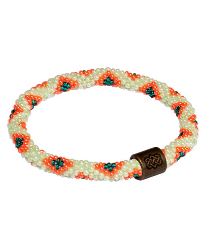 Mayalu Peacock Roll On Bracelet