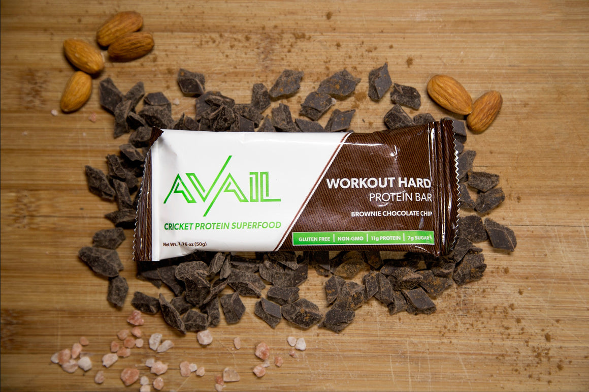WORKOUT HARD: Brownie Chocolate Chip [12-Pack]