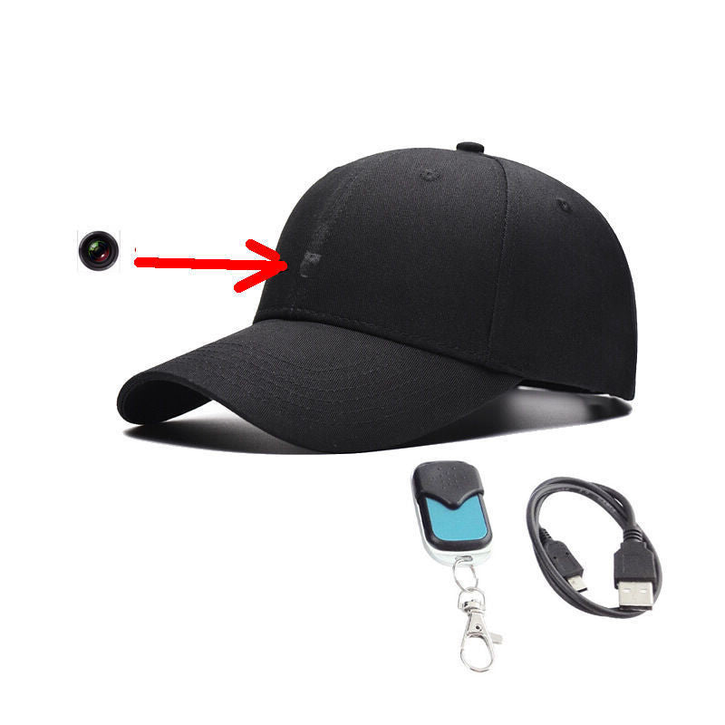 Wireless Control HD Spy Camera Cap