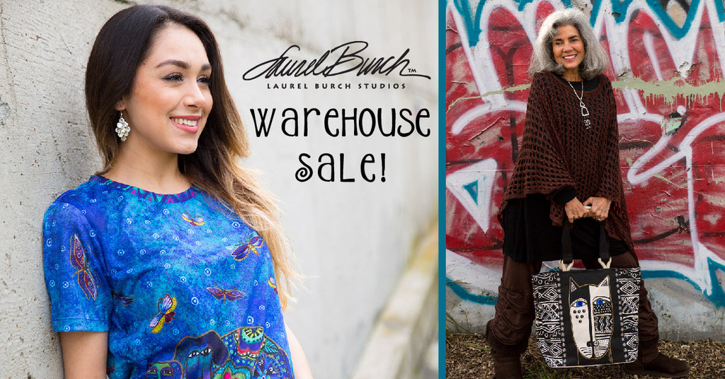 Join Us at The March Laurel Burch Studios Warehouse Sale!
