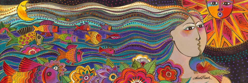 Laurel Burch Studios - Mikayla - Ocean Songs