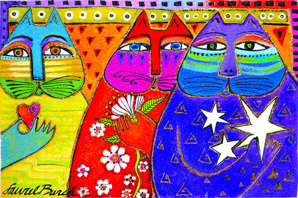 Three Wishes Laurel Burch Studios