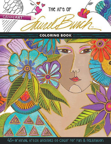 Art of Laurel Burch Coloring Book Books & Stationery C + T Publishing - Laurel Burch Studios