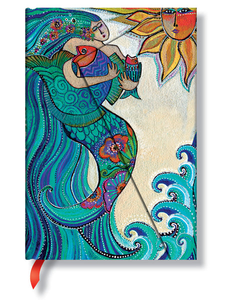 Ocean Song Mini Journal Books & Stationery Hartley & Marks - Laurel Burch Studios