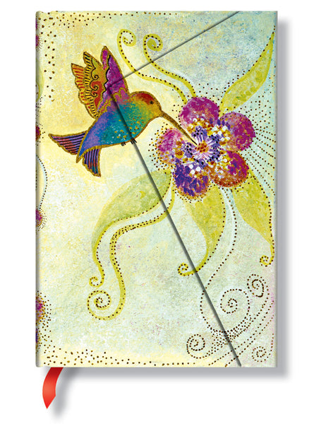 Hummingbird Lined Midi Journal Books & Stationery Hartley & Marks - Laurel Burch Studios
