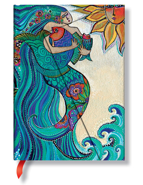 Ocean Song Lined Midi Journal Books & Stationery Hartley & Marks - Laurel Burch Studios