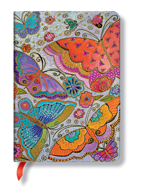 Flutterbyes Midi Journal Books & Stationery Hartley & Marks - Laurel Burch Studios