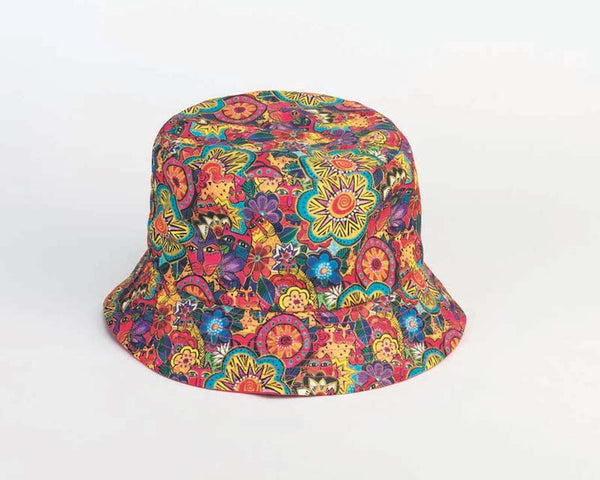 Feline Garden Reversible Bucket Hat