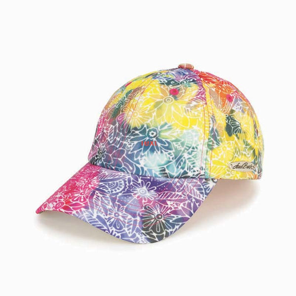 Rainbow Batik Patterned Cap