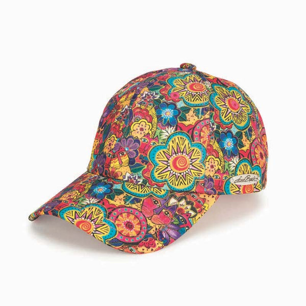 Feline Garden Patterned Cap