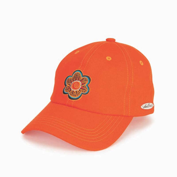 Garden Flower Embroidered Cap