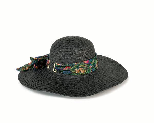 Jungle Songs Black Sun Hat