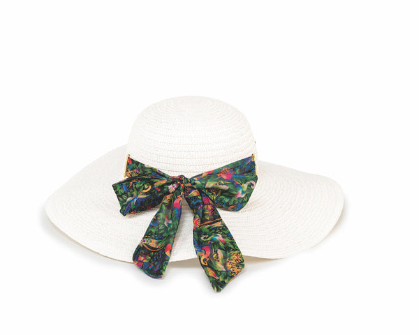 Jungle Songs White Sun Hat