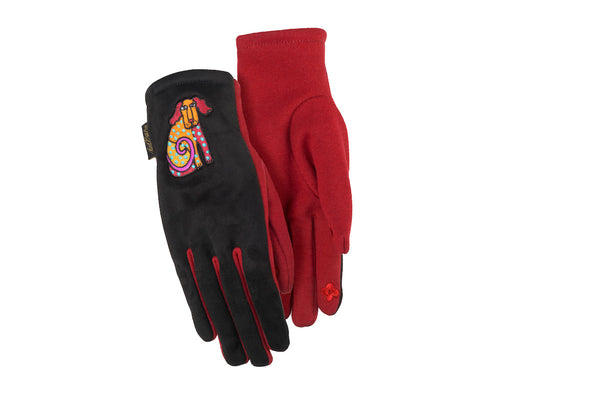 Dog Tales Suede Gloves