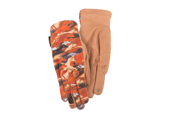 Embracing Horses Suede Gloves