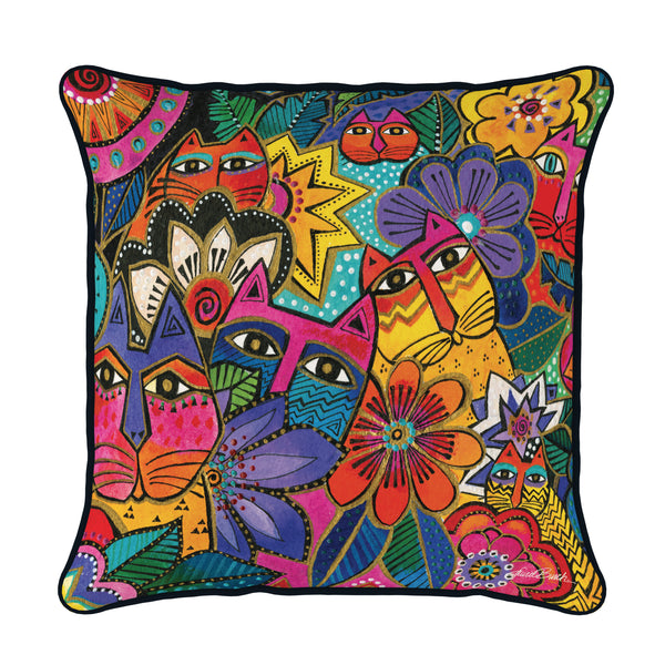 Laurel's Garden Pillow