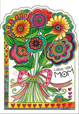 Mother's Day Card: ...a great big bunch!