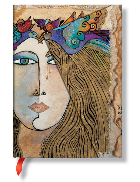 Soul & Tears Mini Journal Books & Stationery Hartley & Marks - Laurel Burch Studios