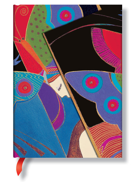 Midsummer Night's Dream Lined Midi Journal Books & Stationery Hartley & Marks - Laurel Burch Studios
