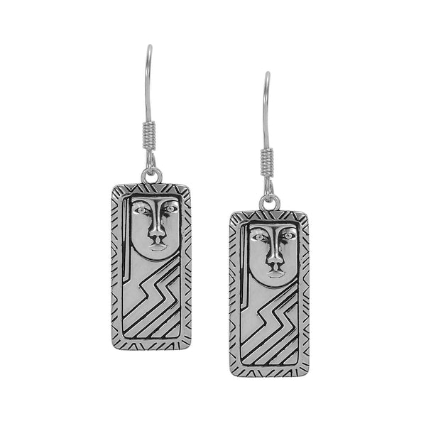 Ancestor Earrings Silver Jewelry Laurel Burch Jewelry - Laurel Burch Studios
