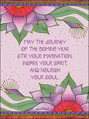 Birthday Card: May the journey of the coming year stir your imagination