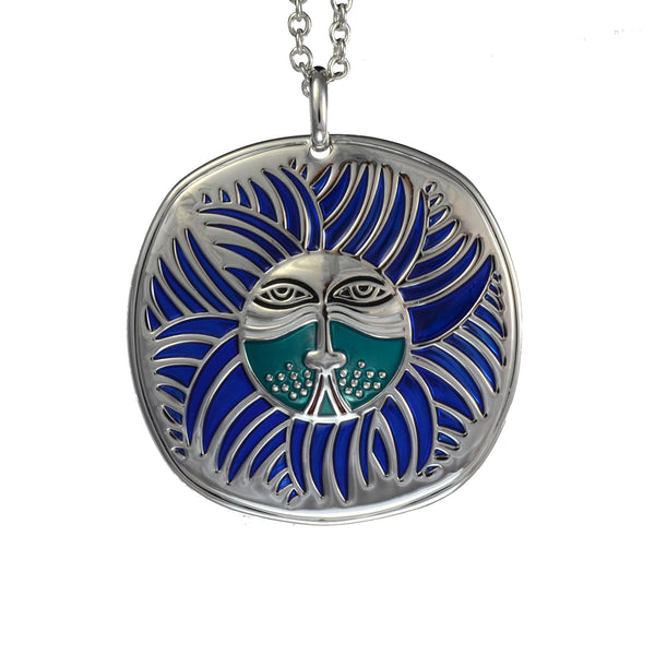 Soleil Lion Necklace Jewelry Laurel Burch Jewelry - Laurel Burch Studios